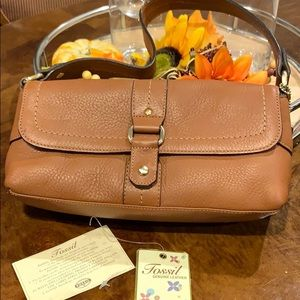 Fossil genuine leather
